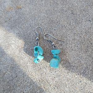 4/$10- Turquoise Earrings
